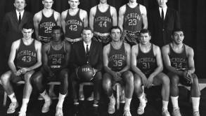 1958-59_Michigan_basketball_team
